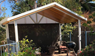 wooden gable patio perth wa