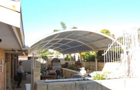 dome roof patio perth